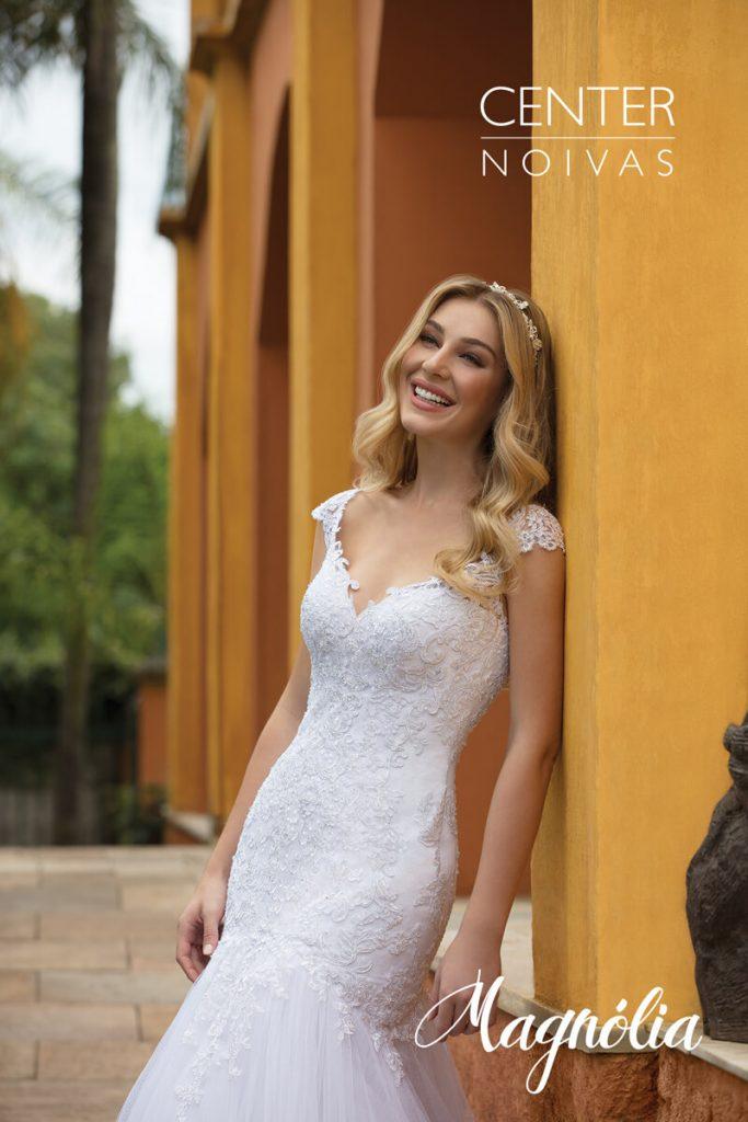A Linda Noiva Contagem – Coleção Magnólia 2018 – MG003 FRENTE
