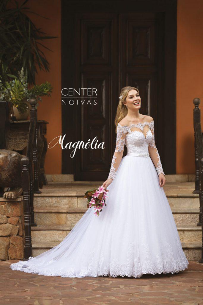 A Linda Noiva Contagem – Coleção Magnólia 2018 – MG004