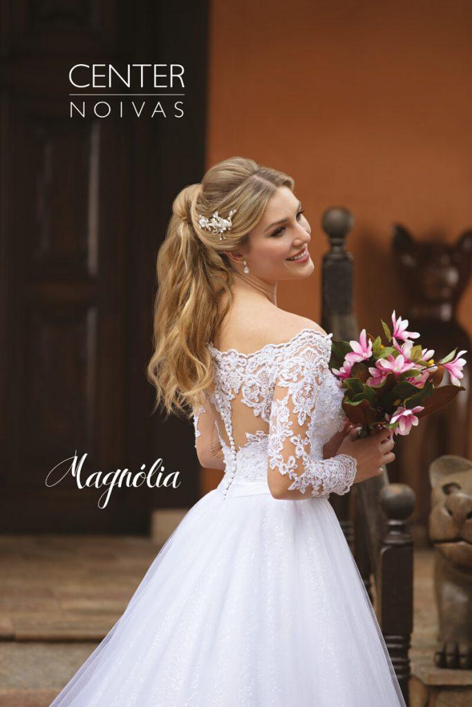 A Linda Noiva Contagem – Coleção Magnólia 2018 – MG004 COSTAS