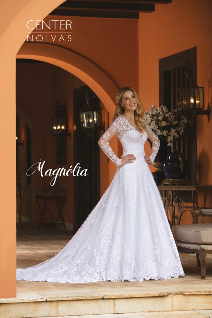 A Linda Noiva Contagem – Coleção Magnólia 2018 – MG008