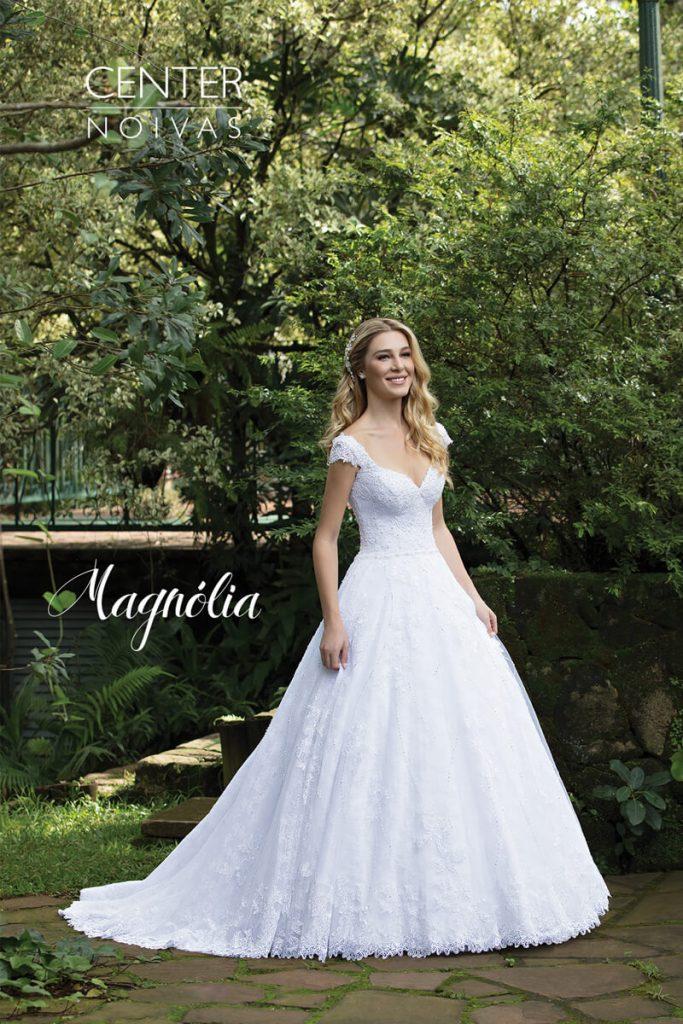 A Linda Noiva Contagem – Coleção Magnólia 2018 – MG010