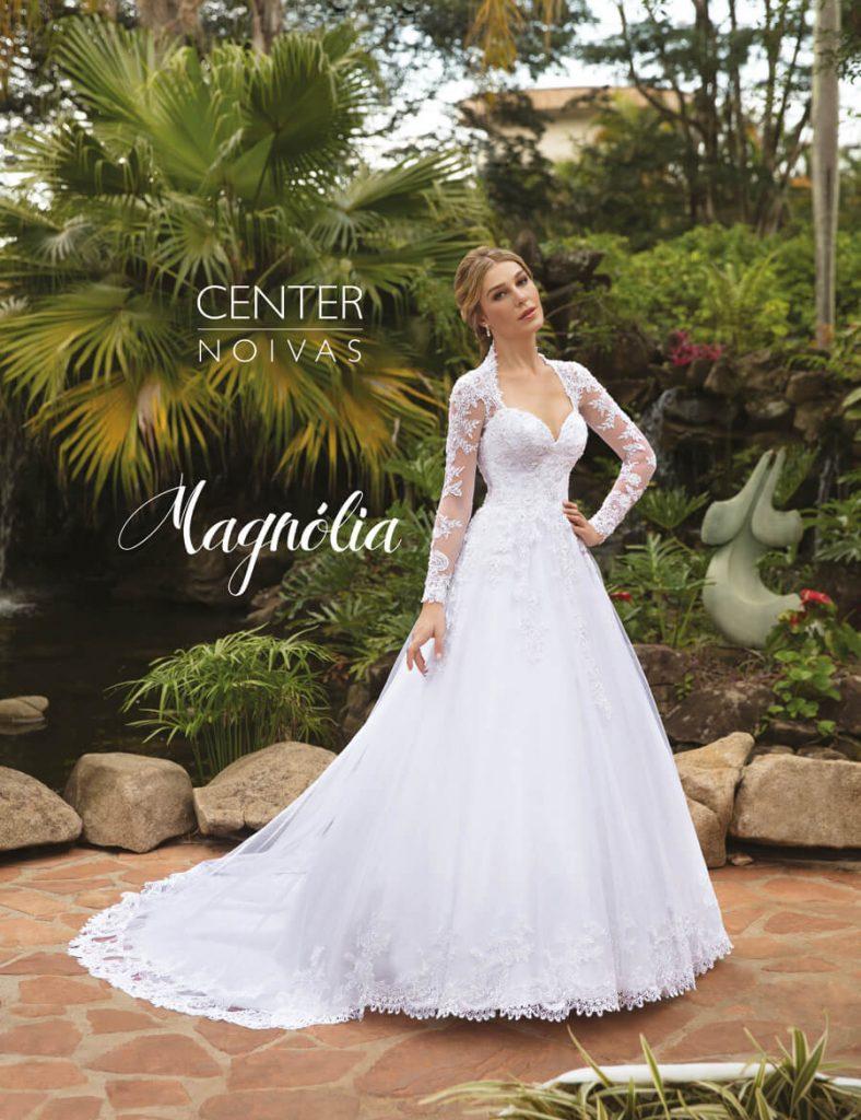 A Linda Noiva Contagem – Coleção Magnólia 2018 – MG12 frente