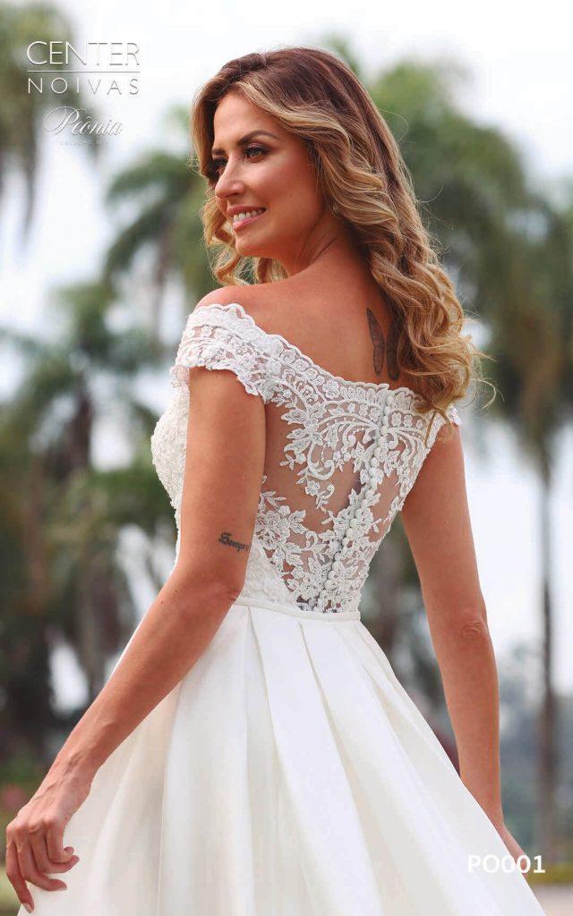 A Linda Noiva Coleção Peônia 2019 – Vestido de Noiva PO001 A