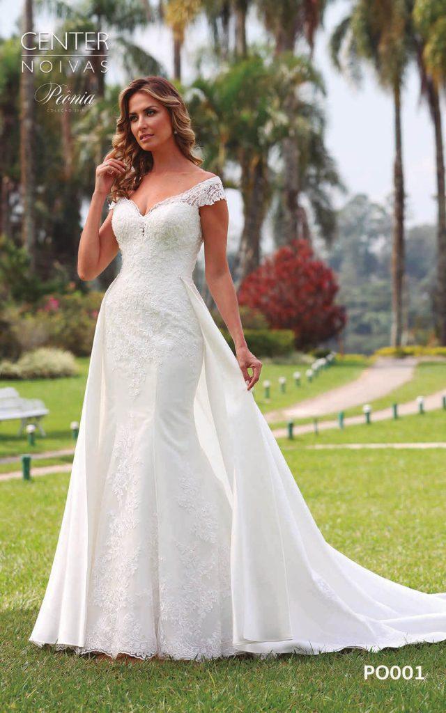A Linda Noiva Coleção Peônia 2019 – Vestido de Noiva PO001 B