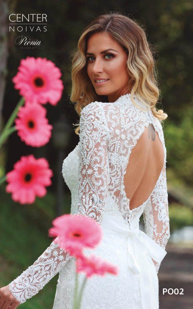 A Linda Noiva Coleção Peônia 2019 – Vestido de Noiva PO002 A