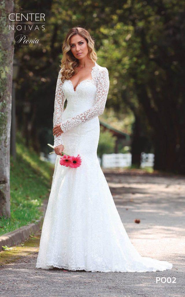 A Linda Noiva Coleção Peônia 2019 – Vestido de Noiva PO002 B