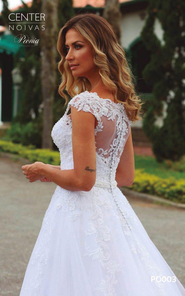 A Linda Noiva Coleção Peônia 2019 – Vestido de Noiva PO003 A