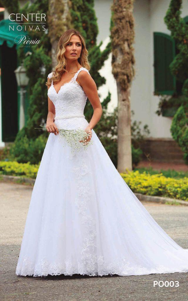 A Linda Noiva Coleção Peônia 2019 – Vestido de Noiva PO003 B
