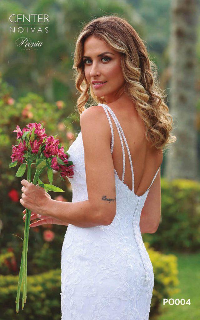 A Linda Noiva Coleção Peônia 2019 – Vestido de Noiva PO004 A