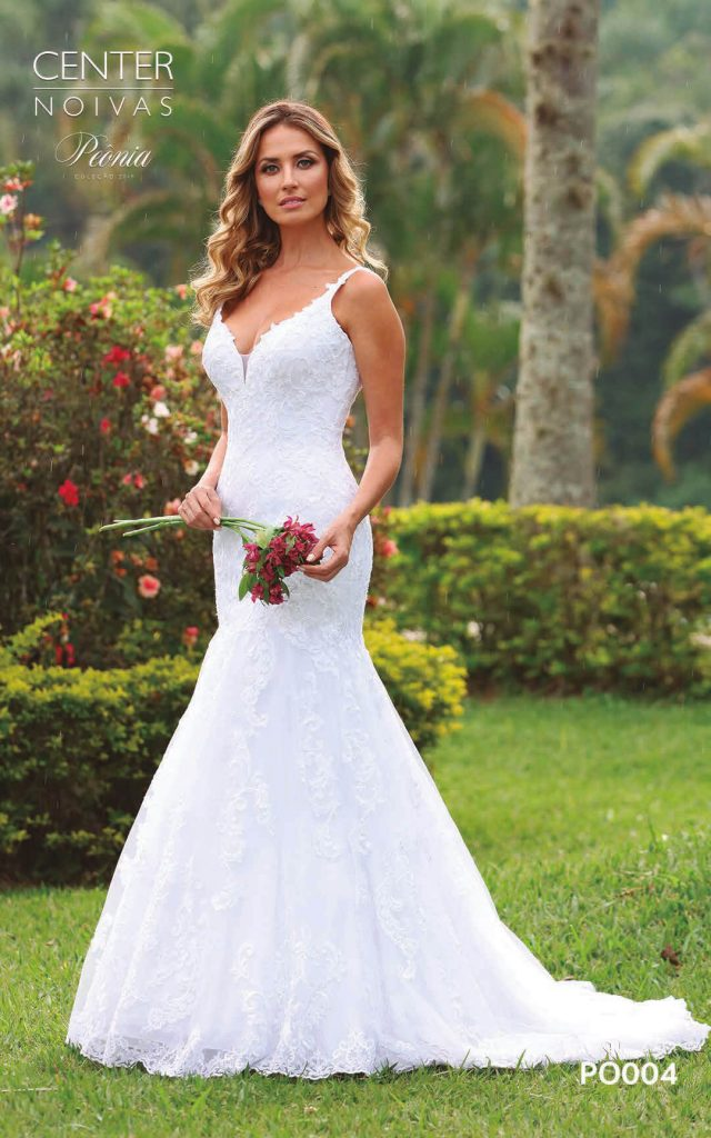 A Linda Noiva Coleção Peônia 2019 – Vestido de Noiva PO004 B