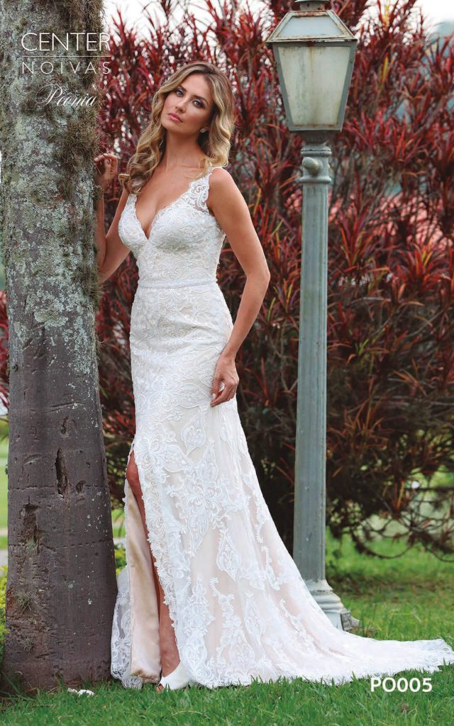 A Linda Noiva Coleção Peônia 2019 – Vestido de Noiva PO005 B