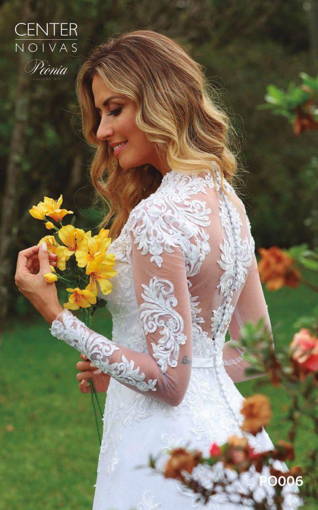 A Linda Noiva Coleção Peônia 2019 – Vestido de Noiva PO006 A
