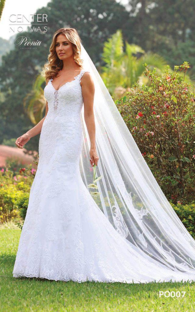 A Linda Noiva Coleção Peônia 2019 – Vestido de Noiva PO007 B