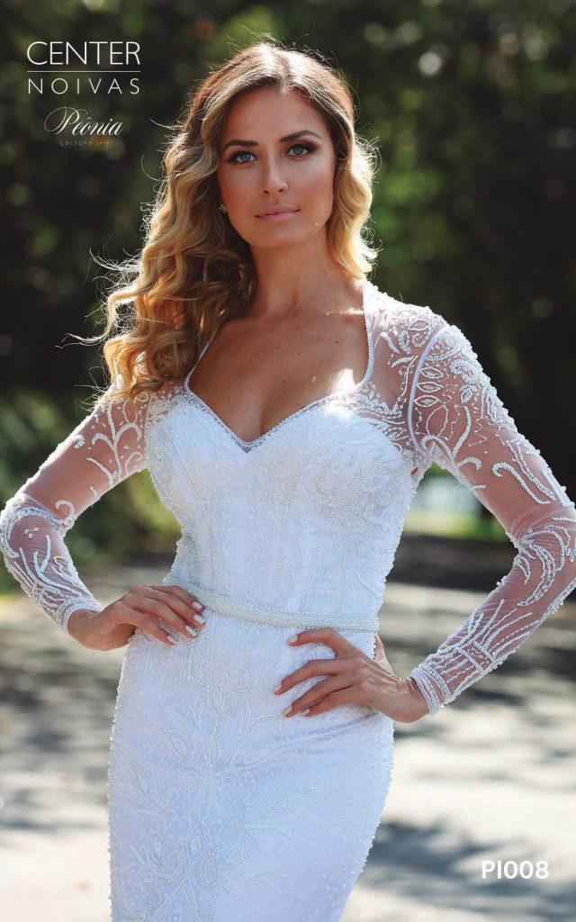 A Linda Noiva Coleção Peônia 2019 – Vestido de Noiva PO008 A