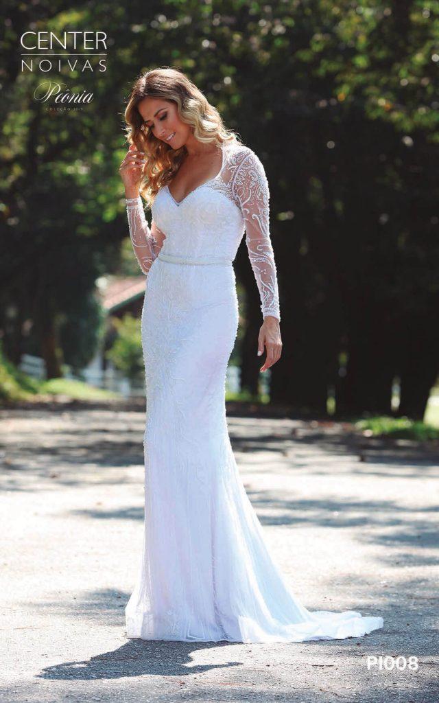 A Linda Noiva Coleção Peônia 2019 – Vestido de Noiva PO008 B