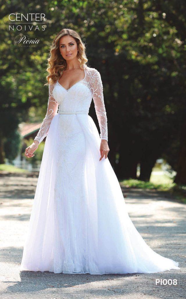 A Linda Noiva Coleção Peônia 2019 – Vestido de Noiva PO008 C