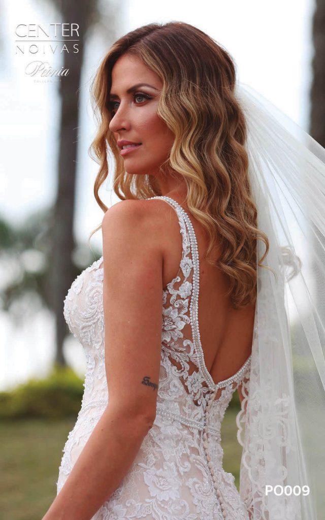 A Linda Noiva Coleção Peônia 2019 – Vestido de Noiva PO009 A