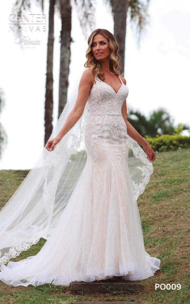 A Linda Noiva Coleção Peônia 2019 – Vestido de Noiva PO009 B