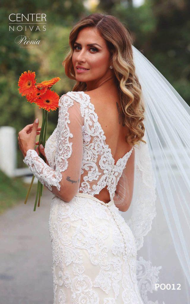 A Linda Noiva Coleção Peônia 2019 – Vestido de Noiva PO012 A