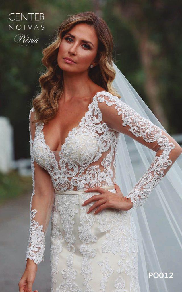 A Linda Noiva Coleção Peônia 2019 – Vestido de Noiva PO012 B