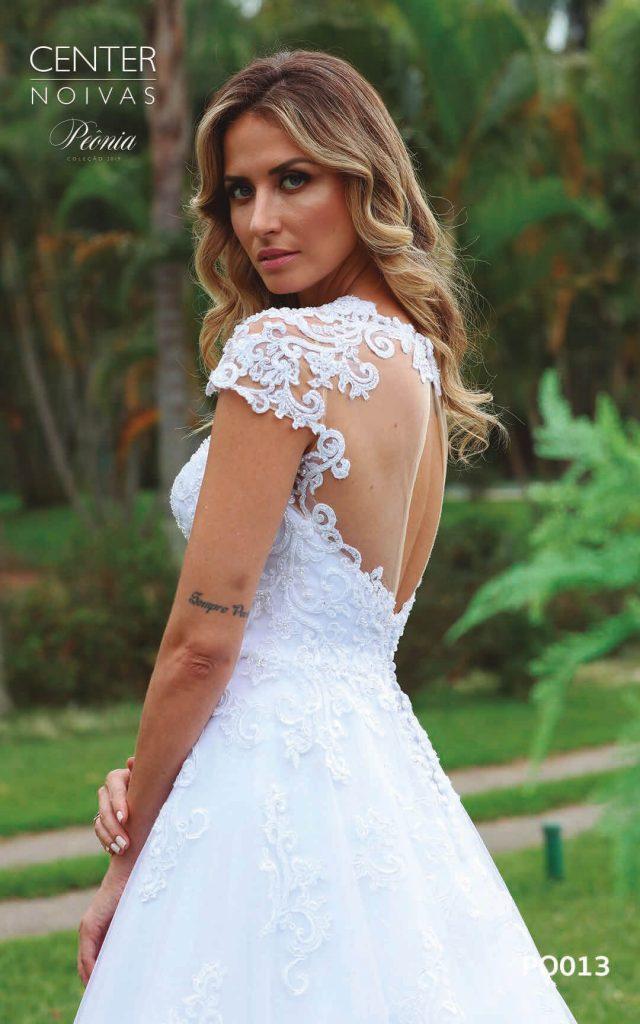 A Linda Noiva Coleção Peônia 2019 – Vestido de Noiva PO013 A