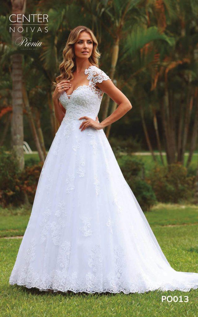 A Linda Noiva Coleção Peônia 2019 – Vestido de Noiva PO013 B