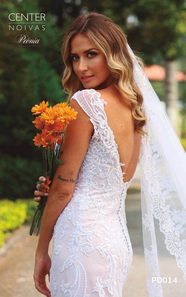 A Linda Noiva Coleção Peônia 2019 – Vestido de Noiva PO014 A
