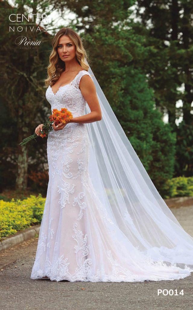 A Linda Noiva Coleção Peônia 2019 – Vestido de Noiva PO014 B
