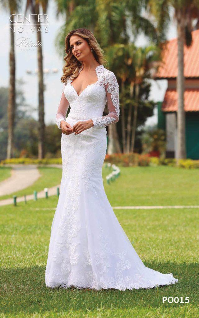 A Linda Noiva Coleção Peônia 2019 – Vestido de Noiva PO015 B