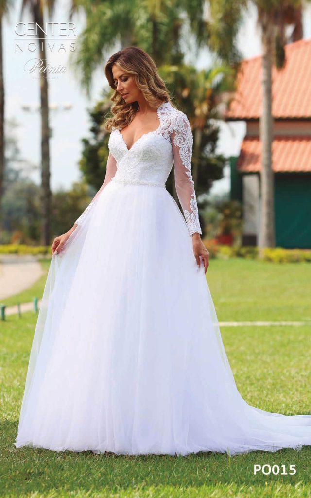 A Linda Noiva Coleção Peônia 2019 – Vestido de Noiva PO015 C