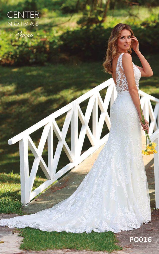 A Linda Noiva Coleção Peônia 2019 – Vestido de Noiva PO016 A
