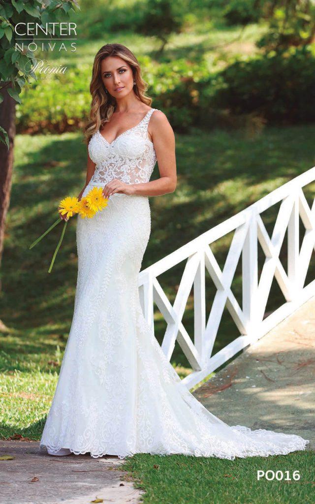 A Linda Noiva Coleção Peônia 2019 – Vestido de Noiva PO016 B