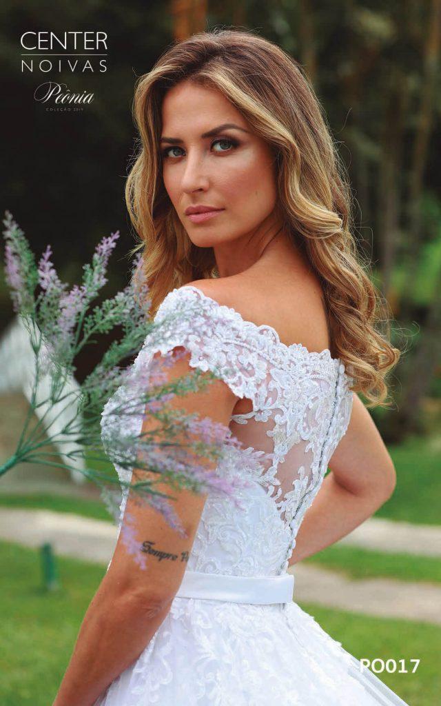 A Linda Noiva Coleção Peônia 2019 – Vestido de Noiva PO017 A
