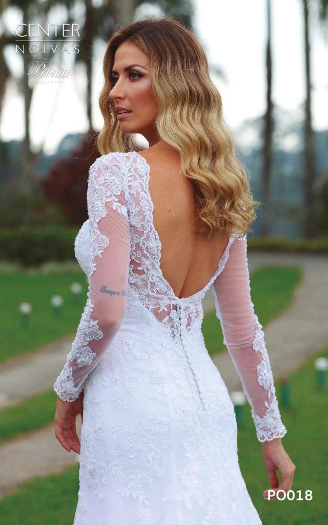 A Linda Noiva Coleção Peônia 2019 – Vestido de Noiva PO018 A