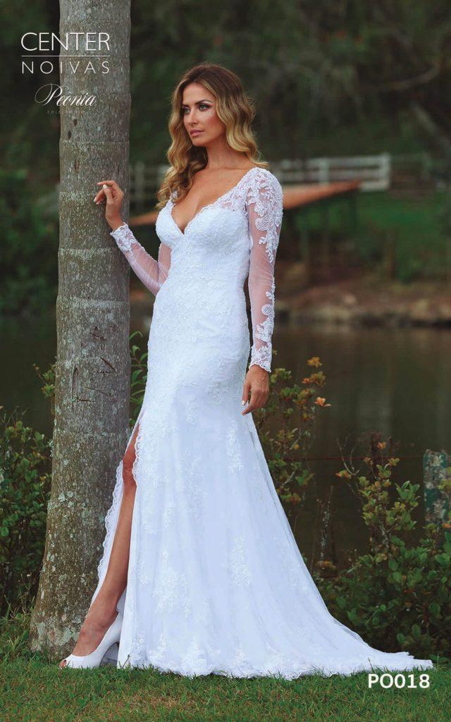 A Linda Noiva Coleção Peônia 2019 – Vestido de Noiva PO018 B