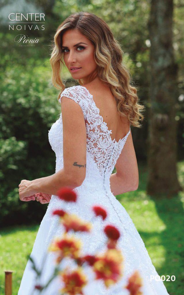 A Linda Noiva Coleção Peônia 2019 – Vestido de Noiva PO020 A