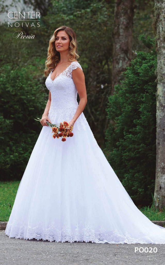 A Linda Noiva Coleção Peônia 2019 – Vestido de Noiva PO020 B