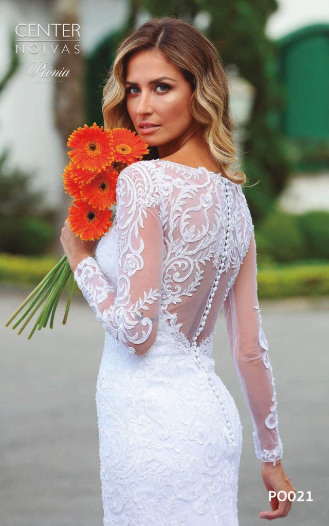 A Linda Noiva Coleção Peônia 2019 – Vestido de Noiva PO021 A