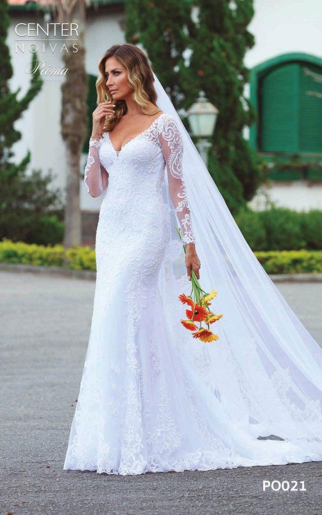 A Linda Noiva Coleção Peônia 2019 – Vestido de Noiva PO021 B