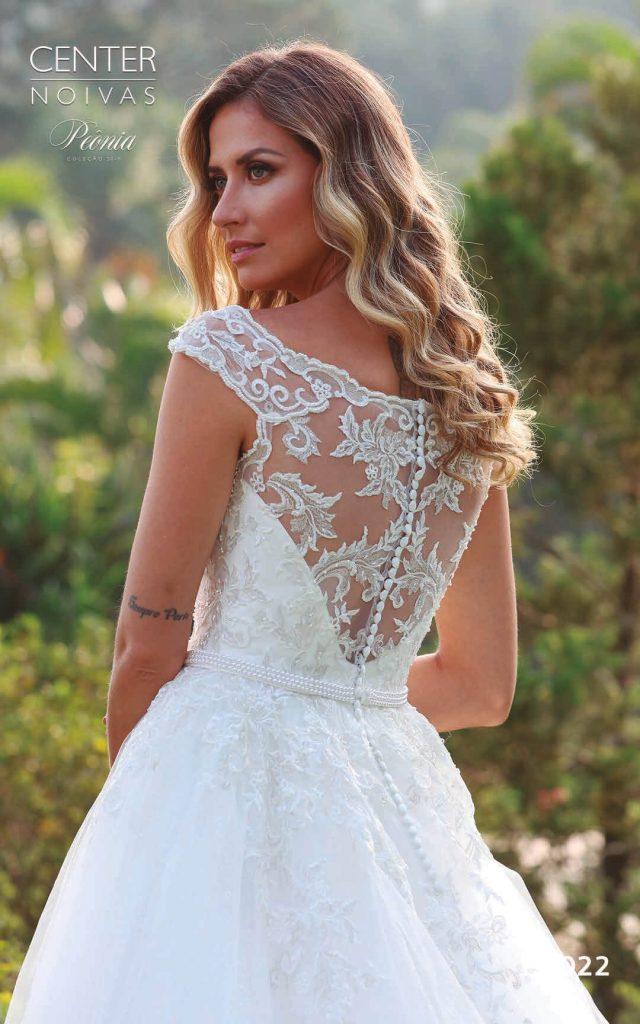 A Linda Noiva Coleção Peônia 2019 – Vestido de Noiva PO022 A