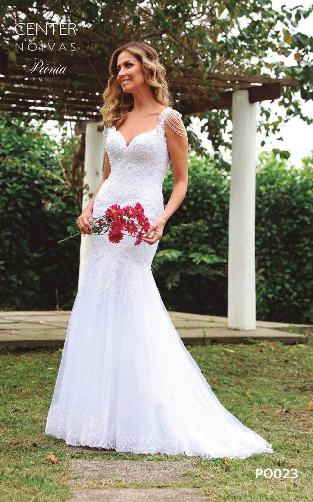 A Linda Noiva Coleção Peônia 2019 – Vestido de Noiva PO023 B