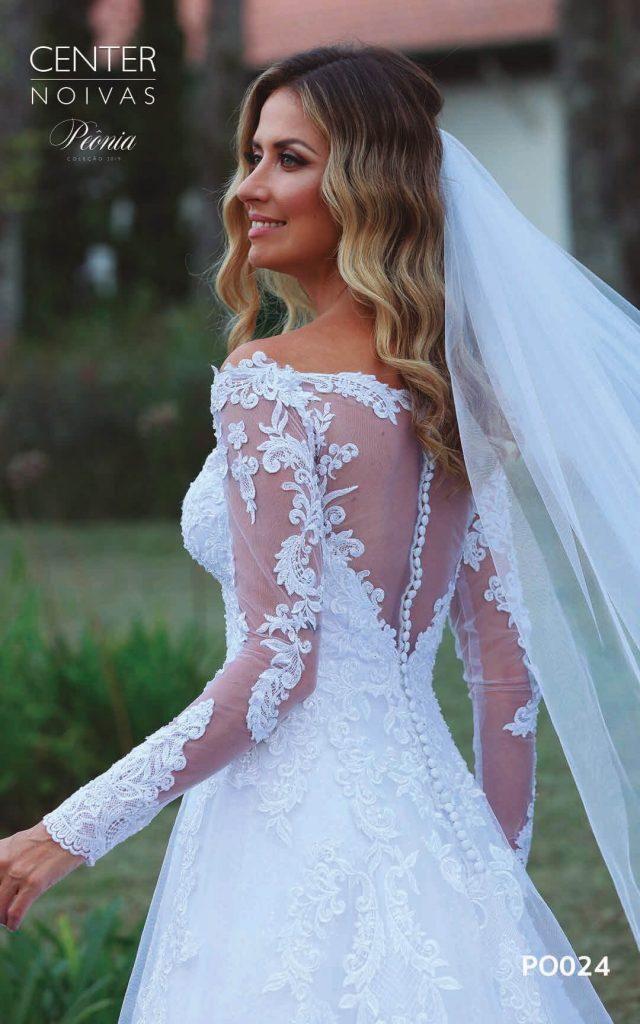 A Linda Noiva Coleção Peônia 2019 – Vestido de Noiva PO024 A