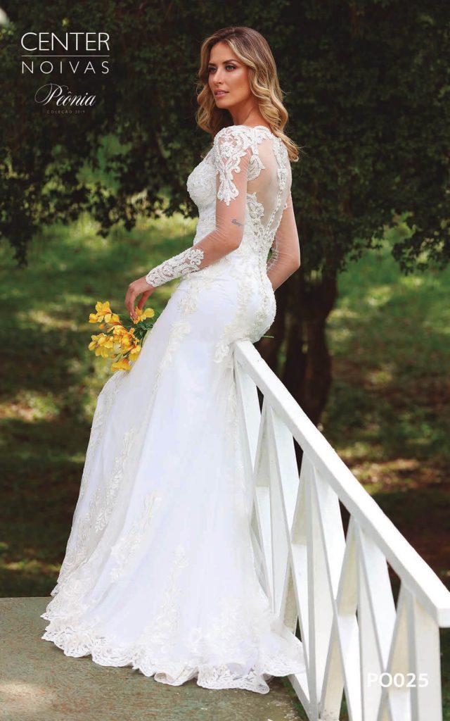 A Linda Noiva Coleção Peônia 2019 – Vestido de Noiva PO025 A