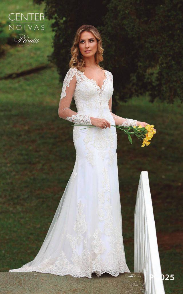 A Linda Noiva Coleção Peônia 2019 – Vestido de Noiva PO025 B