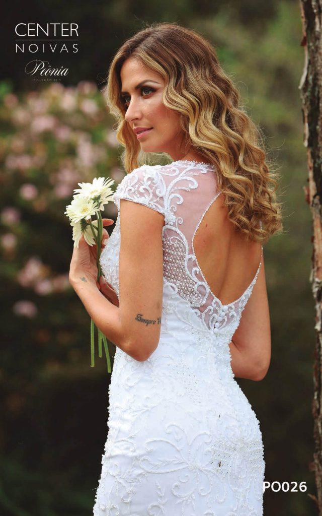 A Linda Noiva Coleção Peônia 2019 – Vestido de Noiva PO026 A