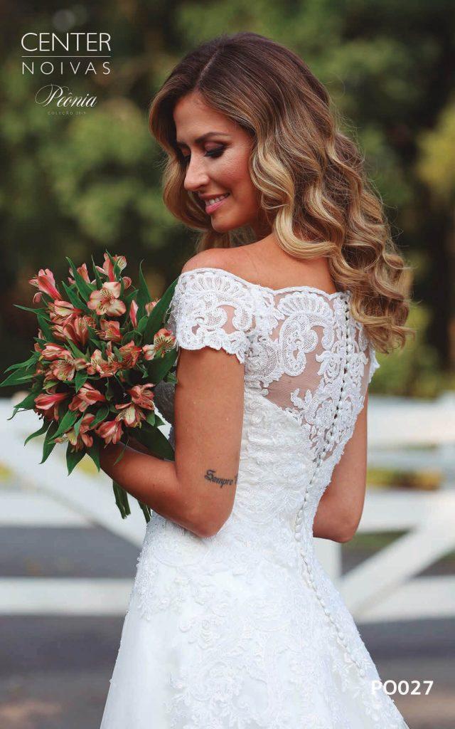 A Linda Noiva Coleção Peônia 2019 – Vestido de Noiva PO027 A