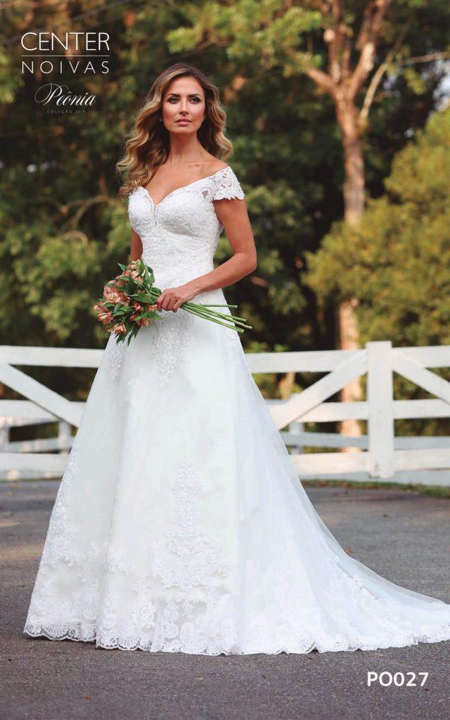 A Linda Noiva Coleção Peônia 2019 – Vestido de Noiva PO027 B