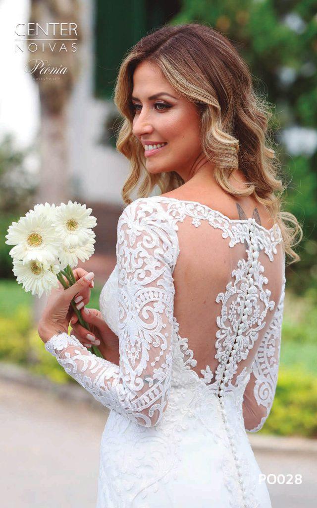 A Linda Noiva Coleção Peônia 2019 – Vestido de Noiva PO028 A