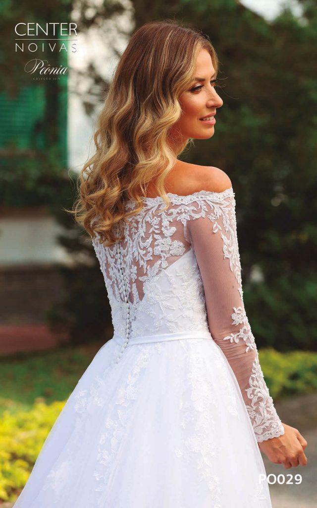A Linda Noiva Coleção Peônia 2019 – Vestido de Noiva PO029 A