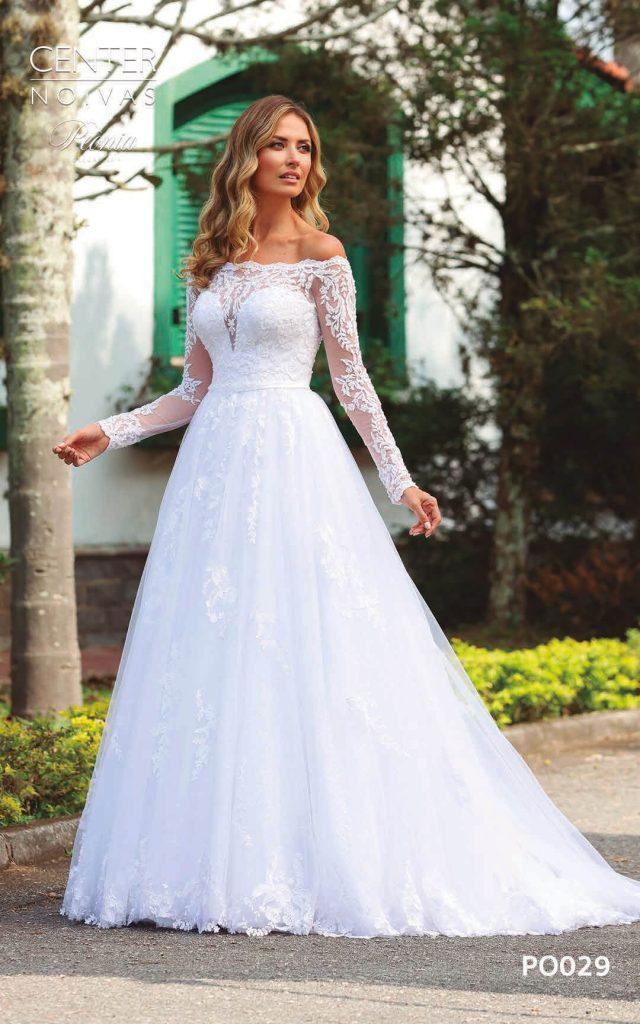 A Linda Noiva Coleção Peônia 2019 – Vestido de Noiva PO029 B